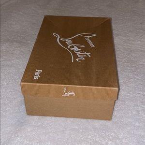 Christian Louboutin Empty Shoe Box size 37